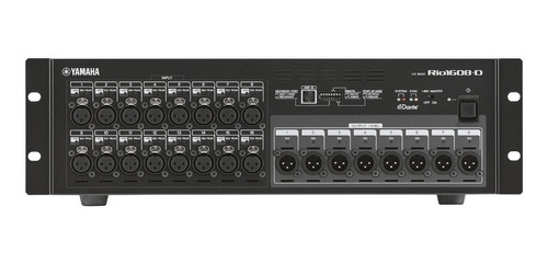 interface rack para mesa de som yamaha rio 1608 d
