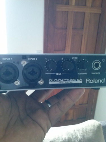 interface roland duo capture ex