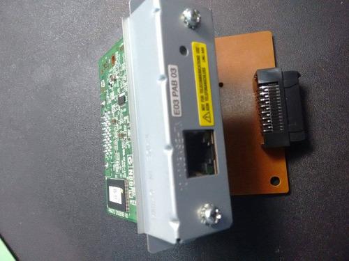 interface tarjeta ethernet epson - p/ticketeras -facturado