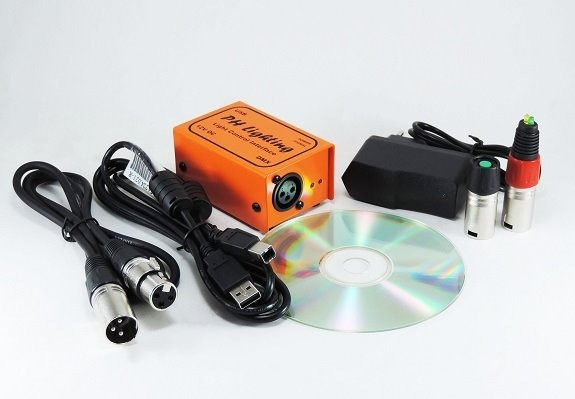 Interface Usb Dmx Lci Ph Lighting+ Acessórios / Mesa Dmx Led