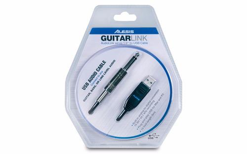 interfase audio - alesis - guitarlink guit-bajo