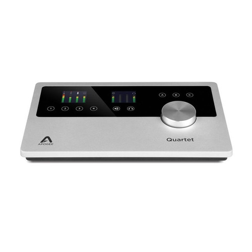 interfaz apogee quartet (stock 1 dia)
