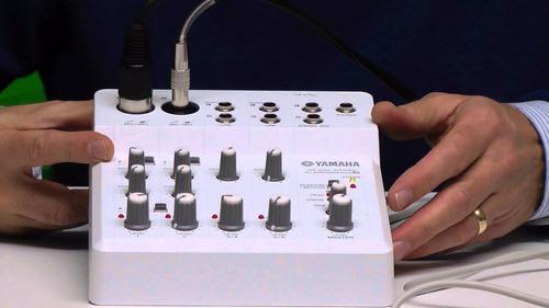 interfaz audio yamaha