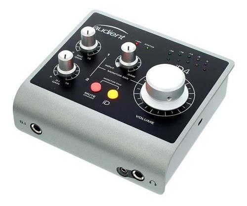 interfaz de audio audient id4 placa de sonido usb