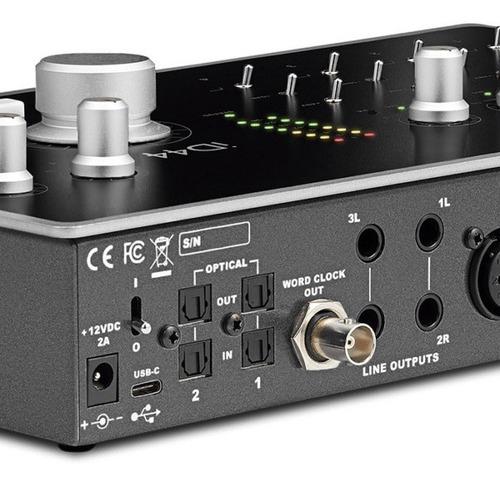 interfaz de audio audient id44 placa de sonido usb
