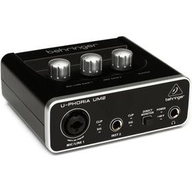 Interfaz De Audio Behringer Um 2 Uphoria 2x2 Phantom