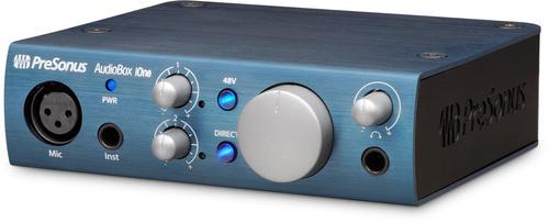 interfaz de audio ipad pc y mac presonus audiobox ione