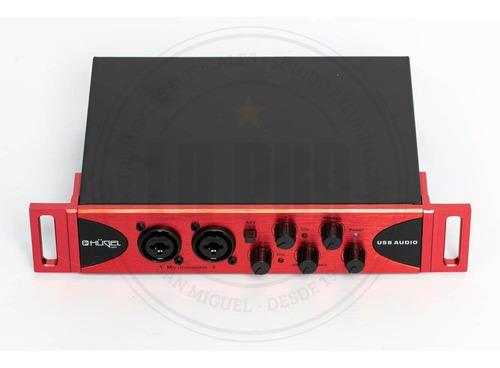 interfaz de audio placa de sonido hügel audiobox usb 2x2