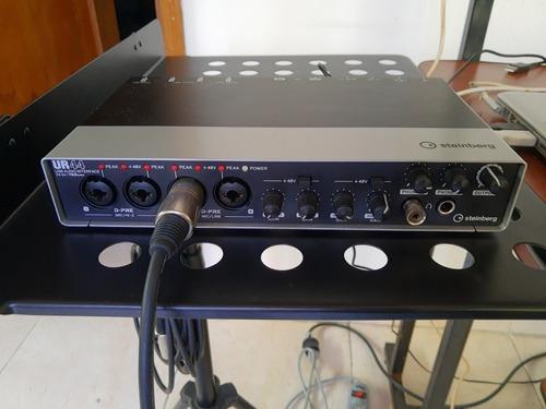 interfaz de audio steinberg ur44