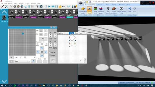 interfaz dmx usb 512 freestyler iluminacion software