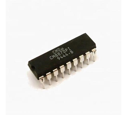 interfaz ic cm8870pi cm8870  8870 dtmf - dual-tone dip18