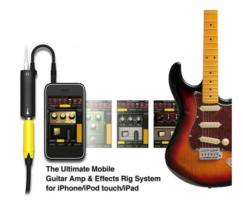 interfaz irig amplitube guitarra y iphone+regalo