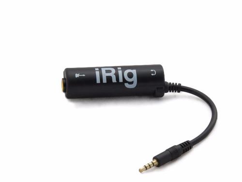 interfaz para guitarra y iphone ipod android irig amplitube