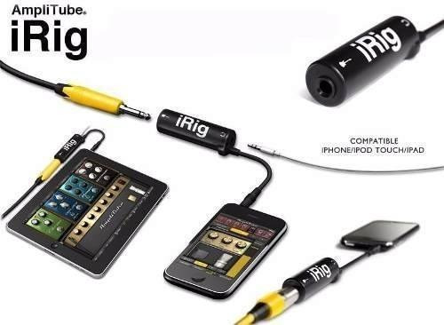 interfaz para instrumentos ik multimedia irig-1 iphone ipad