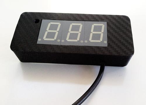 interfaz usb tacómetro+indicador de marchas+velocimetro (pc)