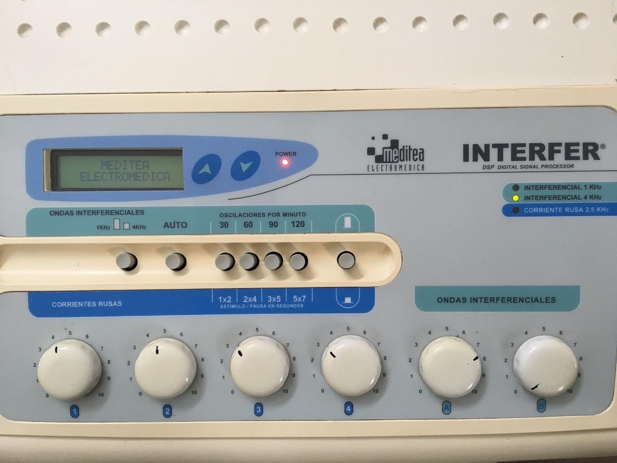 Interferer meditea corrientes interferenciales y rusas cargando zoom