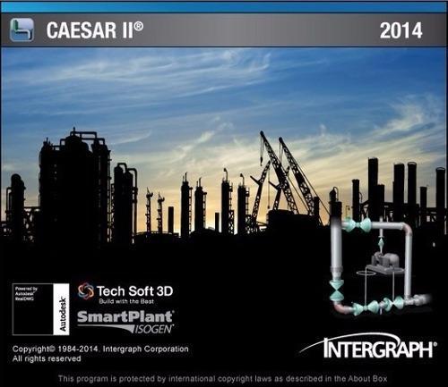 intergraph caesar ii 2016 version 8.0  64 bits