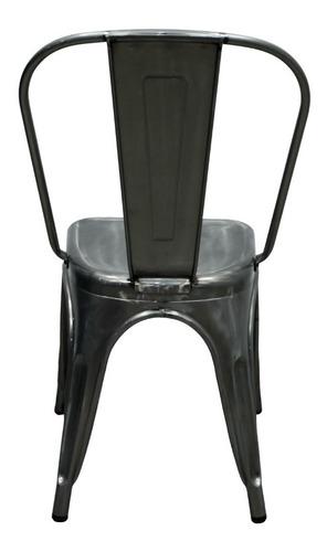 interimobel: 4 sillas tolix vintage minimalista / m. pasir