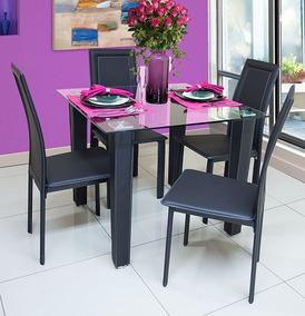 Mesa Comedor De Cristal Con Con 12 Sillas - Artículos para Comedor ...