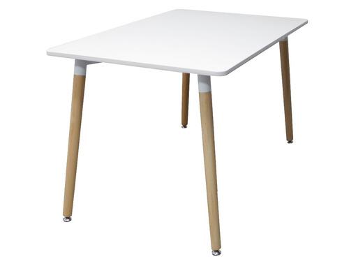 interimobel: mesa de comedor eames rectangular p/6 sillas