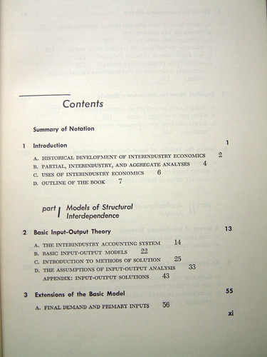 interindustry economics, hollis b. chenery