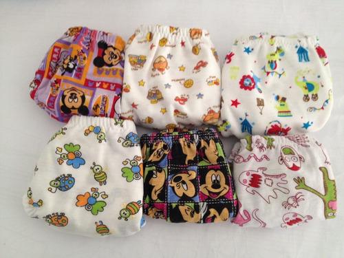 interiores para niños en algodón desde tallas 2 a  12