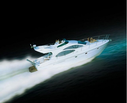 intermarine 460 full 2005 | azimut ferretti phantom real