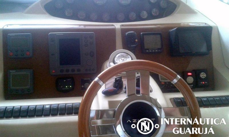 intermarine 520 full 2005 | azimut ferretti sessa phantom