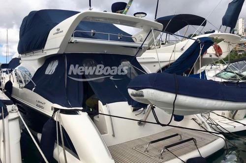 intermarine 520 full  c/ bote de apoio flexboat sr-10