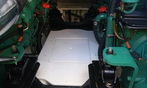 intermarine azimut 460full 2008 2xvolvo d9 500 hp 620 horas