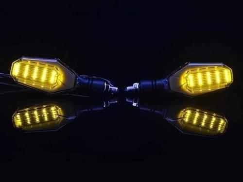 intermitentes led moto + envío ( 2 pares )