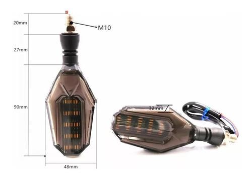 intermitentes moto par luces