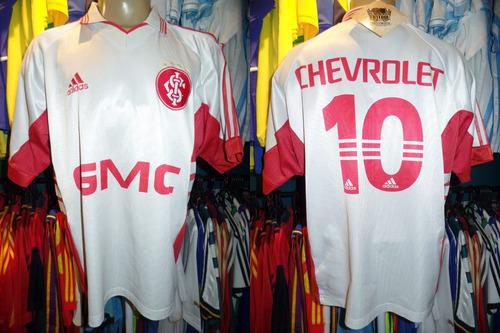 internacional 1999 camisa reserva tamanho gg número 10.