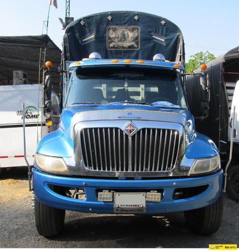 internacional 4300 camión estaca