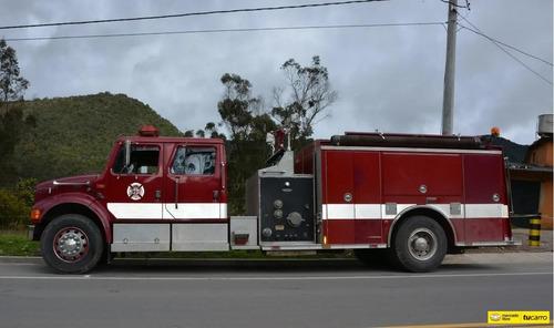 internacional  bomberos  diesel