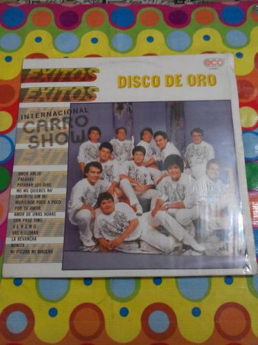 internacional carro show lp disco de oro éxitos 1989 r