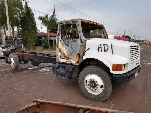 international 4900 1990 accidentado se vende completo