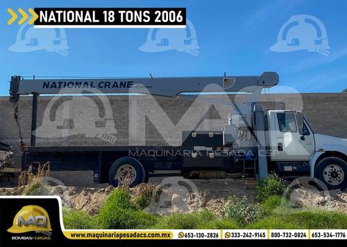 international - national 18 tons 2006 grua titan