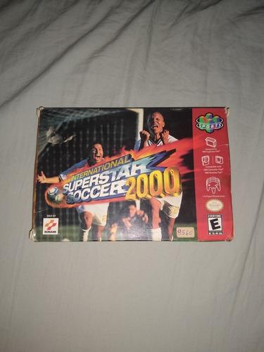 international superstar soccer 2000 n64 cib completo america