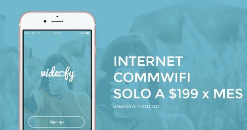 internet 5 megas a $199 por mes - 2 meses gratis