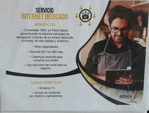 internet banda ancha por fibra optica