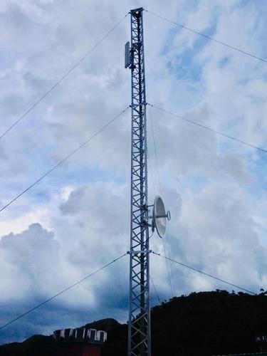 internet dedicado 1:1, satelital, residencial guataparo