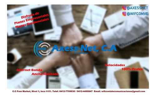 internet dedicado para empresas y hogar