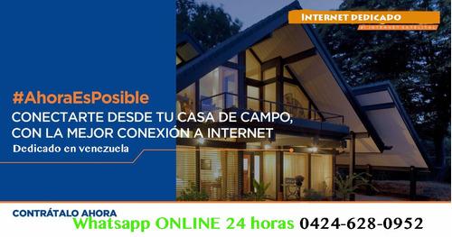 internet dedicado para residencias y empresas