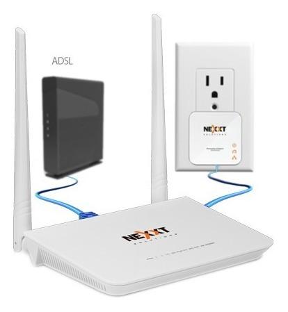internet en linea de corriente 220vac sparx200 nexxt