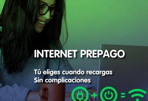internet en prepago desde $89 semanal