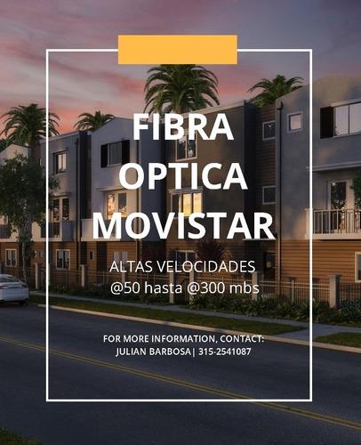 internet fibra óptica hogar movistar