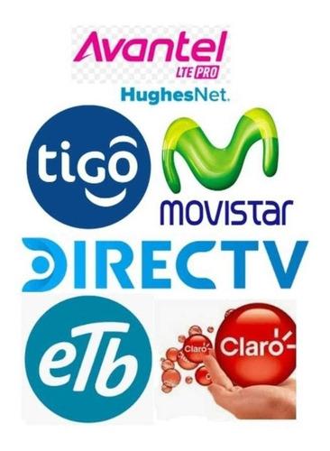 internet hogar y televisión planes móviles, netflix spotify