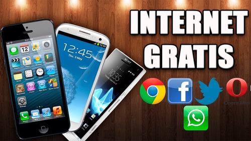 internet ilimitado en tu celular un solo pago