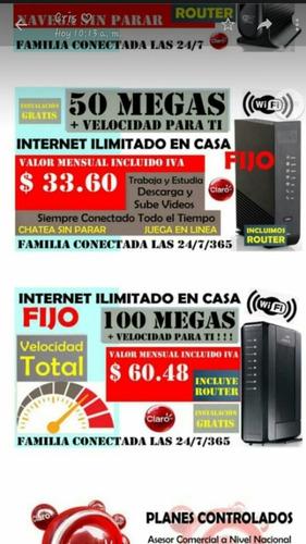 internet más económico,servicio de tv o telefonía fija